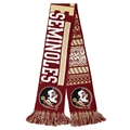 "Florida State Seminoles NCAA Reversible UGLY 60"" Team Knit Scarf *SALE*"