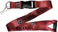 South Carolina Gamecocks NCAA Red Lanyard