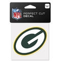 "Green Bay Packers NFL 4"" x 4"" Perfect Cut Decal"