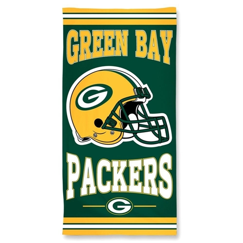 Green Bay Packers NFL 30'' x 60'' Cotton BEACH TOWEL *SALE*