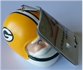 Green Bay Packers NFL Resin Santa Head Ornament *SALE*