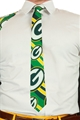 Green Bay Packers NFL Repeat Big Logo Shinesty Printed Tie *NEW*
