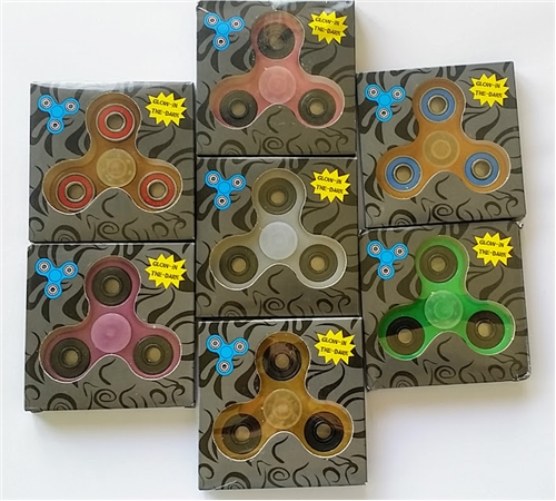 Wholesale Fidget Spinners Glow in the Dark - Assorted **CLOSEOUT**