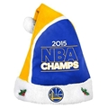 "Golden State Warriors 2015 NBA Champs Basic Holiday 18"" Christmas Santa Hat"