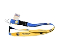 Golden State Warriors Blue/Gold Reversible Lanyard *NEW*