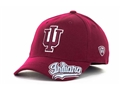 Indiana Hoosiers NCAA Top of the World All Access Cardinal Red ONE-FIT Hat *CLOSEOUT*