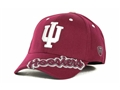 Indiana Hoosiers NCAA Top of the World Downshift Cardinal Red Hat *CLOSEOUT*