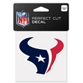 "Houston Texans NFL 4"" x 4"" Perfect Cut Decal *SALE*"