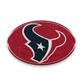 Houston Texans NFL Oval Color Bling Car Emblem *CLOSEOUT*