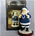 Indianapolis Colts NFL Table Top Resin Santa Figurine *NEW*