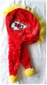 Kansas City Chiefs NFL Mohawk Short Thematic Dangle Hat *NEW*