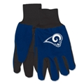 Los Angeles Rams NFL 2 Tone Sport Utility Work Gloves *SALE*