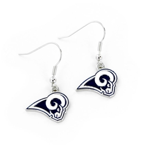 Los Angeles Rams NFL Dangle Earrings *SALE*