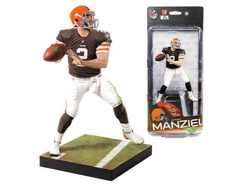 Johnny Manziel NFL Cleveland Browns McFarlane Sportspicks Series 35 Figure *CLOSEOUT*