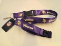 Minnesota Vikings NFL Purple Lanyard