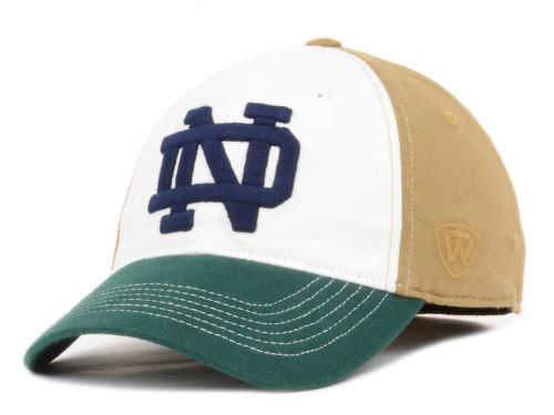 Notre Dame Fighting Irish NCAA Top of the World T-Shirt Jock ONE-FIT HAT *SALE*