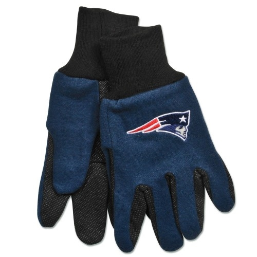NEW England Patriots NFL 2 Tone Sport Utility Work Gloves *SALE*