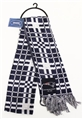 "New England Patriots NFL Reversible Checkered 60"" Team Scarf *SALE*"