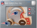 New England Patriots NFL Baby Push & Pull Wooden Toy *CLOSEOUT*