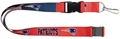 New England Patriots NFL Blue/Red Reversible Lanyard *NEW*