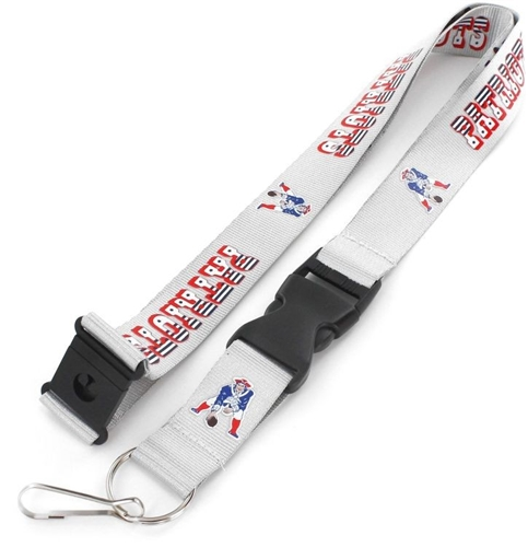 New England Patriots NFL Throwback Lanyard *NEW*