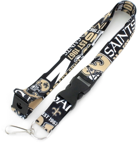 New Orleans SAINTS NFL Dynamic Lanyard *NEW*