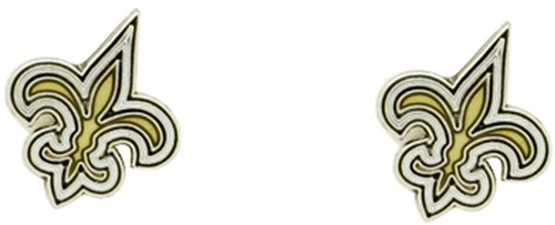 New Orleans SAINTS NFL Post Stud Earrings *NEW*