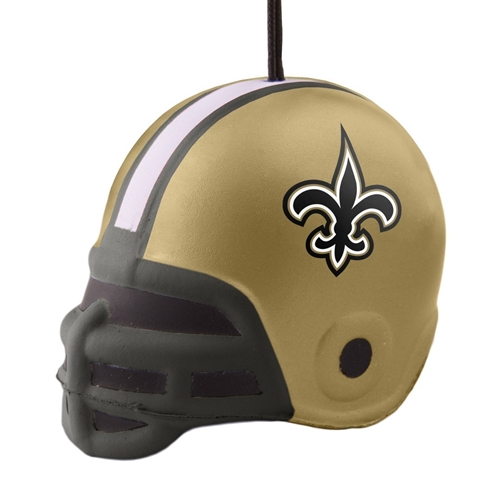 New Orleans SAINTS NFL Squish Helmet Ornament *SALE*
