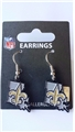 New Orleans Saints State Design NFL Dangle Earrings *NEW*