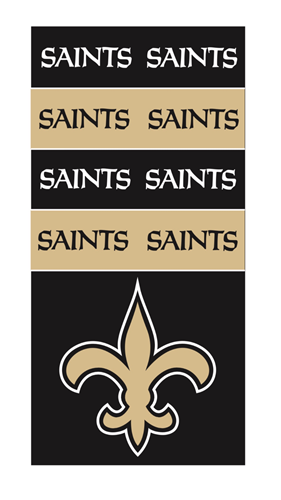 New Orleans SAINTS NFL Superdana Neck Gaiter *NEW*