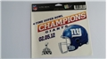 "New York Giants 4-Time Super Bowl Champs NFL 5"" x 6"" Ultra Decal *CLOSEOUT* - 59 Count Lot"