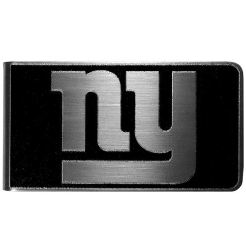 NEW York Giants NFL Black Steel Money Clip