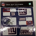New York Giants NFL Team Gift Stickers
