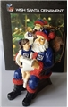New York Giants NFL Resin Wish Santa Ornament *SALE*