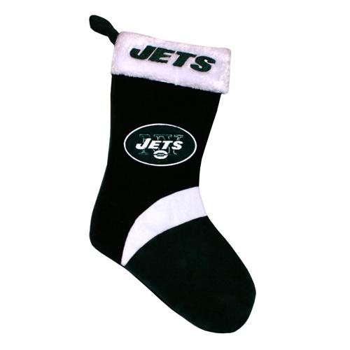New York Jets NFL Basic HOLIDAY 17'' Christmas Stocking *NEW*