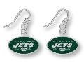 New York Jets NFL Dangle Earrings