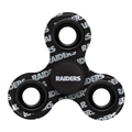 Oakland Raiders NFL Multi Logo Printed 3 Way Fidget Spinners *CLOSEOUT*
