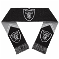 "Oakland Raiders Reversible Stripe NFL 60"" Team Knit Scarf"