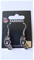 Oakland Raiders State Design NFL Dangle Earrings *NEW*