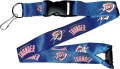 Oklahoma City Thunder NBA Blue Lanyard