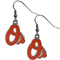 Baltimore Orioles MLB Silver Dangle Earrings *SALE*