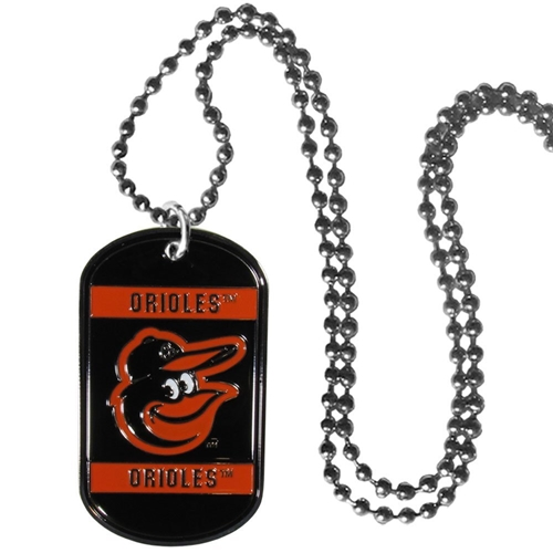 Baltimore Orioles MLB Dog Tag Necklace *CLOSEOUT*