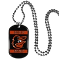Baltimore Orioles MLB Dog Tag Necklace *SALE*