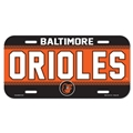Baltimore Orioles Name MLB Souvenir Plastic License Plate *CLOSEOUT*