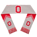 "Ohio State Buckeyes Reversible Stripe NCAA 60"" Team Knit Scarf *SALE*"