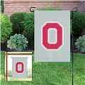 "Ohio State Buckeyes NCAA 15""x10.5"" Embroidered 1-Sided Garden Flag *NEW*"