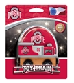 Ohio State Buckeyes NCAA Wooden Toy Train
