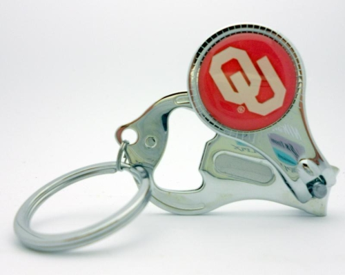 Oklahoma Sooners NCAA 3 in 1 Metal Key Chain *CLOSEOUT*