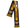 "Pittsburgh Penguins BIG Logo NHL 60"" Knit Scarf"