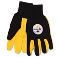 Pittsburgh Steelers NFL 2 Tone Sport Utility Work Gloves